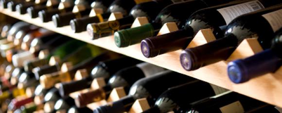 Toscana - Bottiglie di Chianti