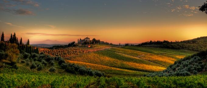 Toscana - Valle del Chianti