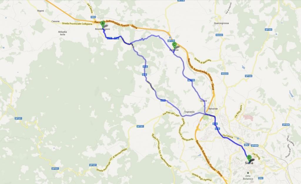 Cicloviaggio Toscana