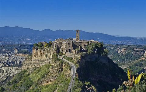 I tappa ciclotour Toscana - Civita di Bagnoregio