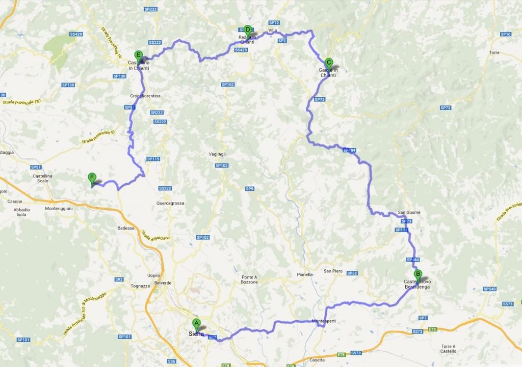 Terza Tappa - Via del Chianti - Toscana